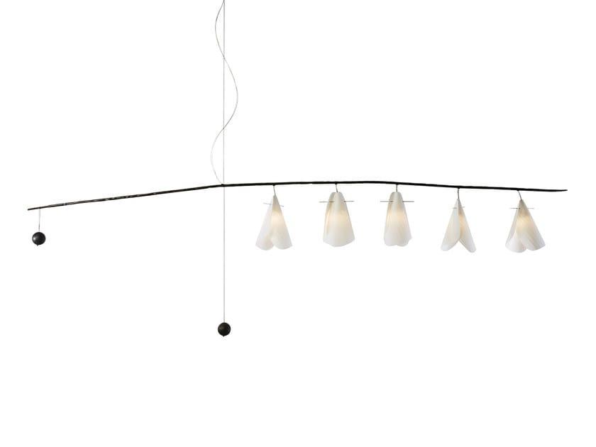 Japanese paper pendant lamp GINKO | Pendant lamp by CFOC