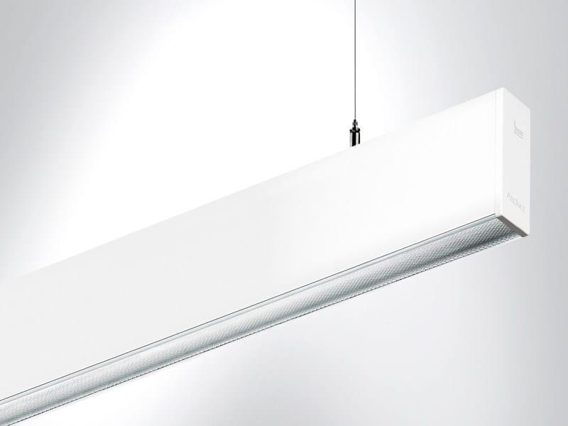 LED extruded aluminium pendant lamp RIGO | Pendant lamp by Arcluce