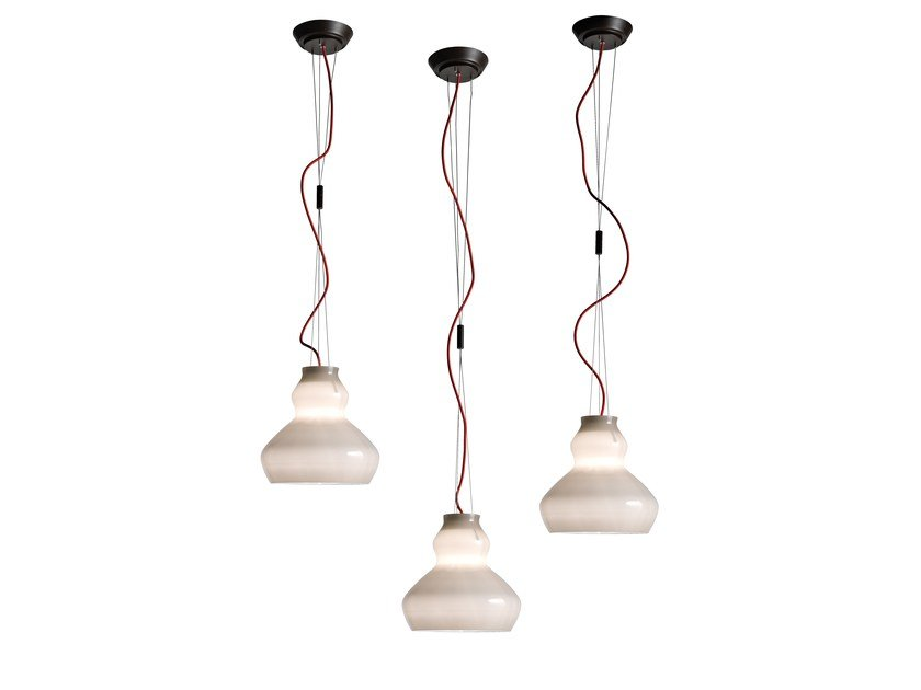 Glass pendant lamp BLOB | Pendant lamp by Arketipo