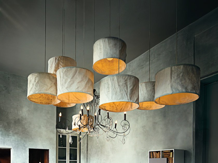 Wud pendant lamp wud collection by arketipo linen pendant lamp wud pendant lamp by arketipo mozeypictures Gallery