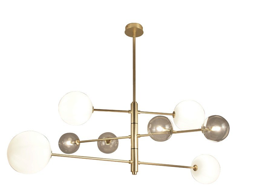 Metal pendant lamp ATOM | Pendant lamp by Aromas del Campo