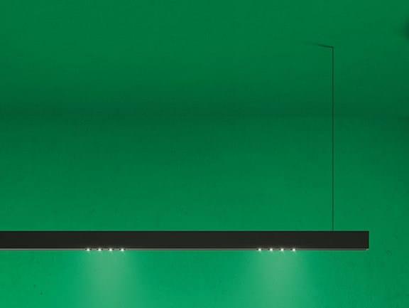 LED direct light aluminium pendant lamp A.15 | Pendant lamp by Artemide