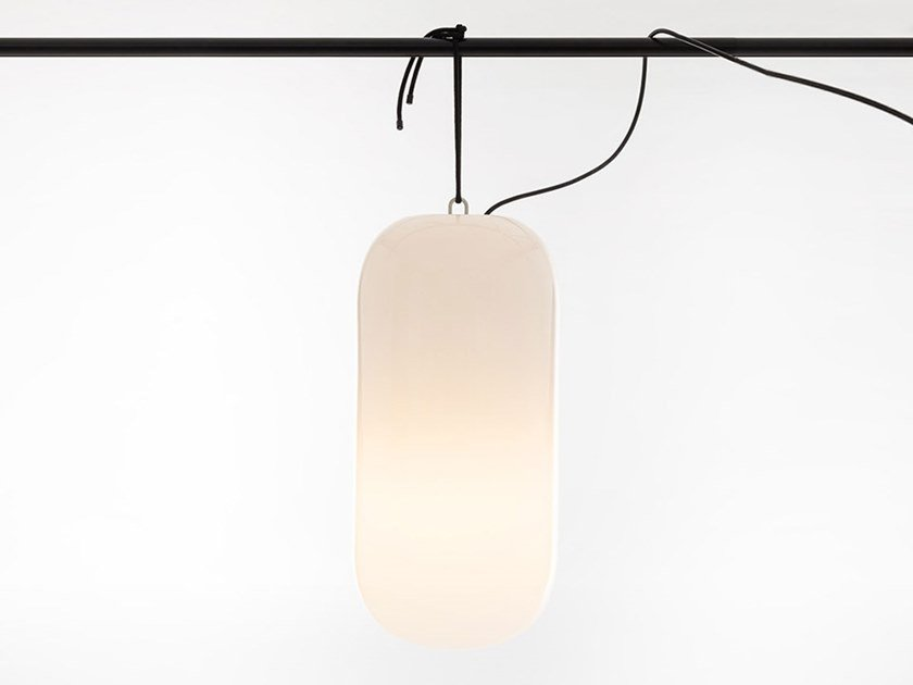 Lampada a sospensione per esterno in plastica GOPLE OUTDOOR | Lampada a sospensione per esterno by Artemide