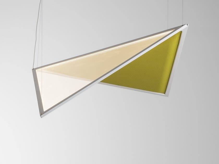 Acoustic swivel pendant lamp FLEXIA | Pendant lamp by Artemide