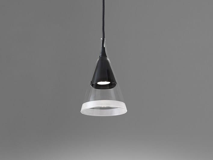 LED Borosilicate glass pendant lamp VIGO | Pendant lamp by Artemide
