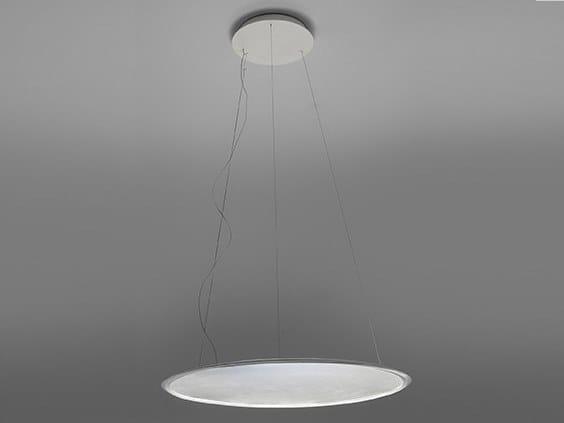 LED direct-indirect light aluminium pendant lamp DISCOVERY | Pendant lamp by Artemide