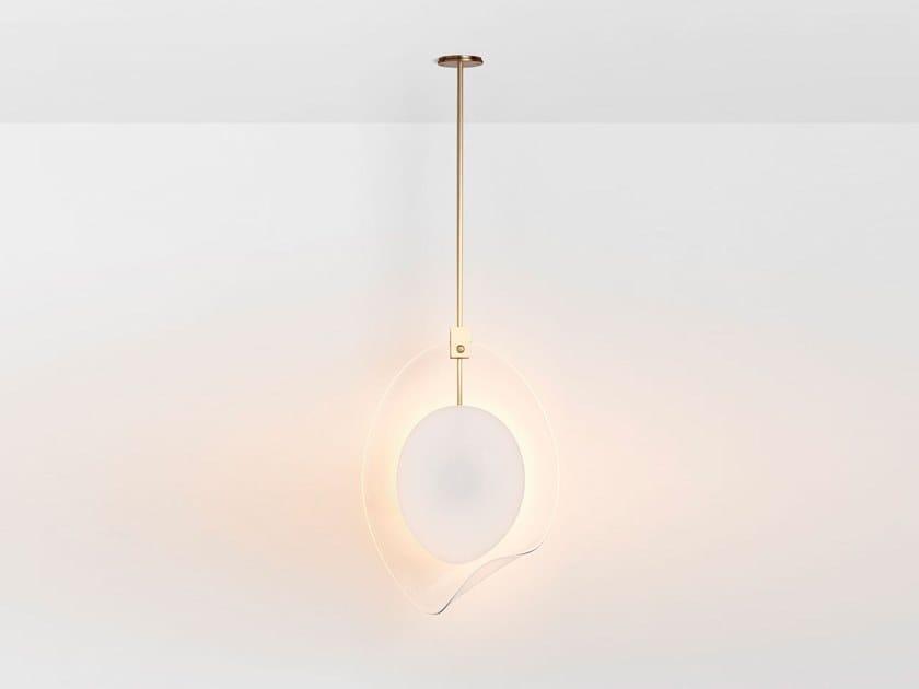 Lampada a sospensione a LED in vetro di Murano OVOLO | Lampada a sospensione by Articolo Lighting