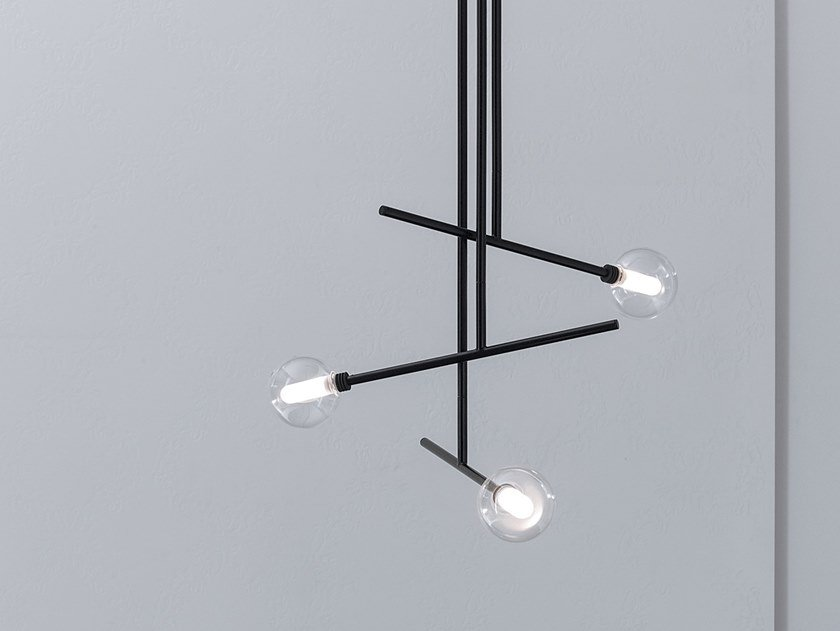 Direct light metal pendant lamp BRILLO | Pendant lamp by Capo d'Opera