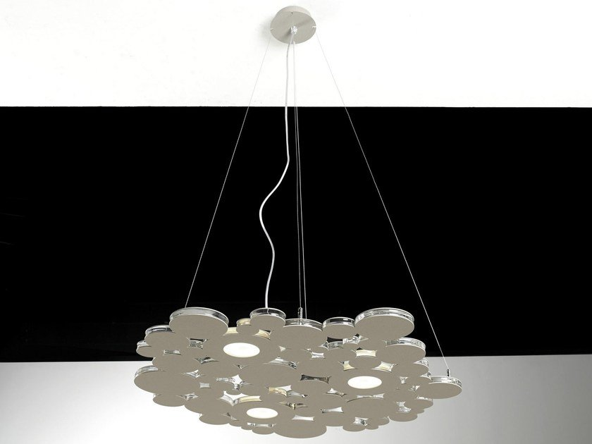 LED metal pendant lamp BOLLE | Pendant lamp by Cattaneo