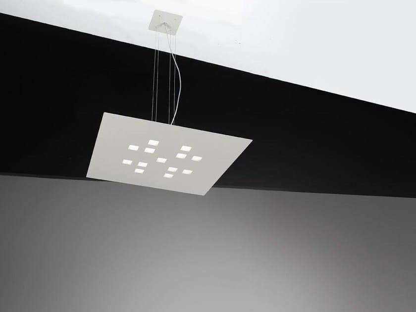 LED metal pendant lamp PLATEAU | Pendant lamp by Cattaneo