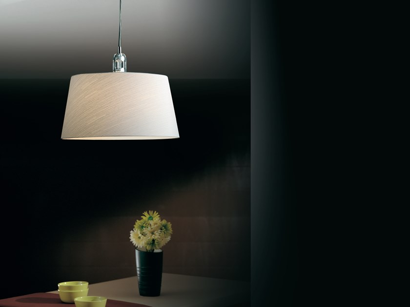 Fabric pendant lamp RISE | Pendant lamp by Cattaneo