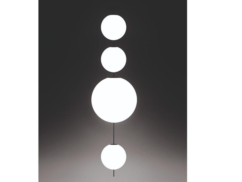 LED opal glass pendant lamp ELEMENTI | Pendant lamp by DE PADOVA
