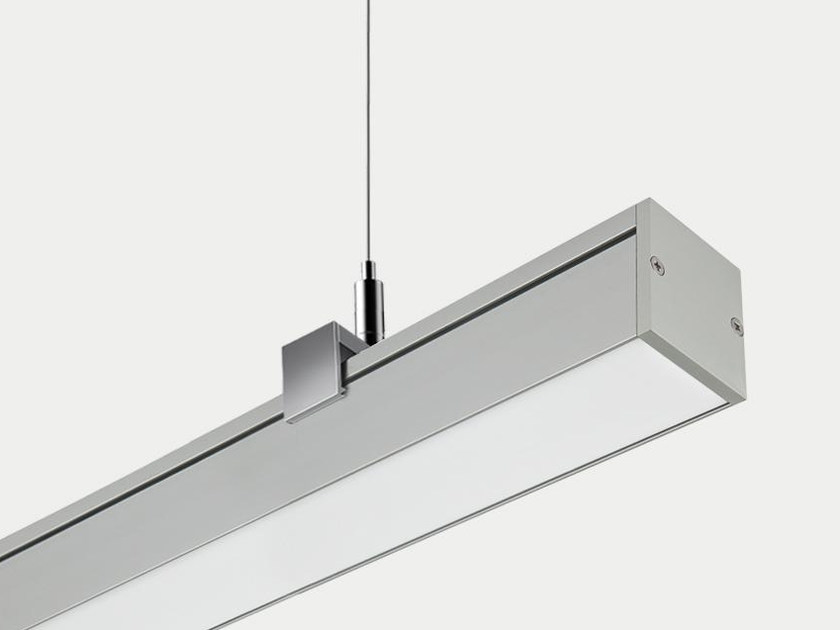 Anodized aluminium pendant lamp SYSTEM 4000 | Pendant lamp by ES-SYSTEM