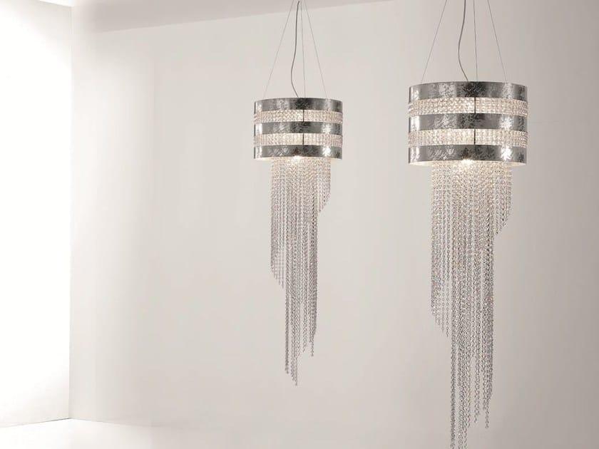 Lampada a sospensione con cristalli swarovski® dafne lampada a