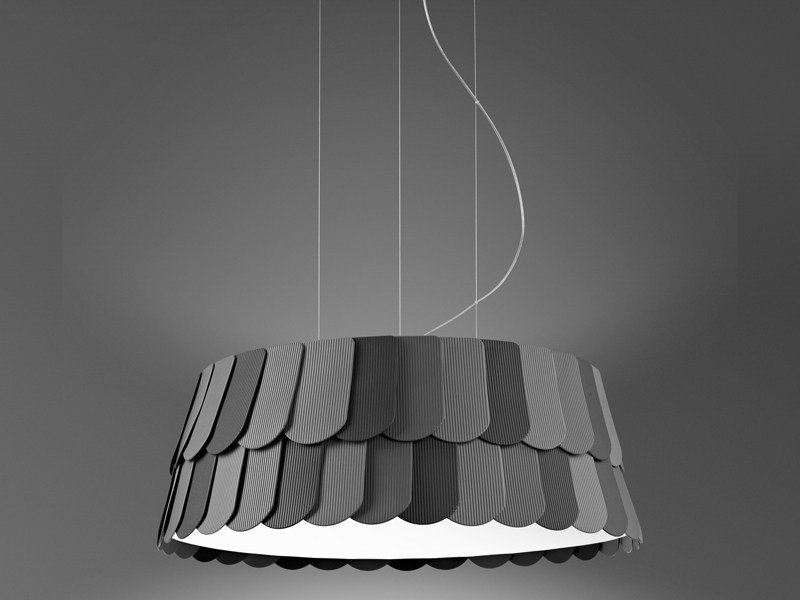 Plastic pendant lamp ROOFER | Pendant lamp by Fabbian