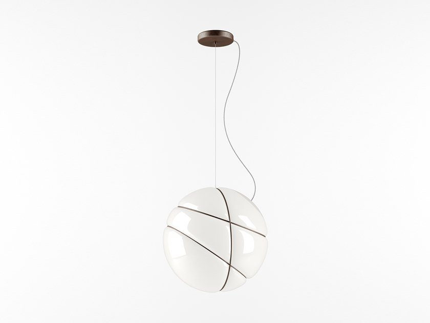 Blown glass pendant lamp ARMILLA | Pendant lamp by Fabbian