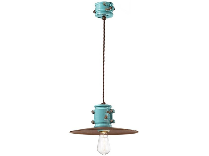 Ceramic pendant lamp URBAN | Pendant lamp by FERROLUCE