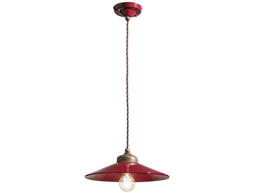 Ceramic pendant lamp COLORS   Pendant lamp by FERROLUCE
