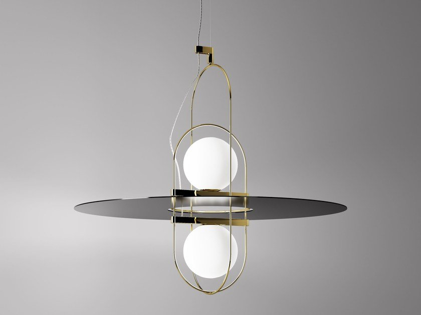 Blown glass pendant lamp SETAREH | Pendant lamp by FontanaArte