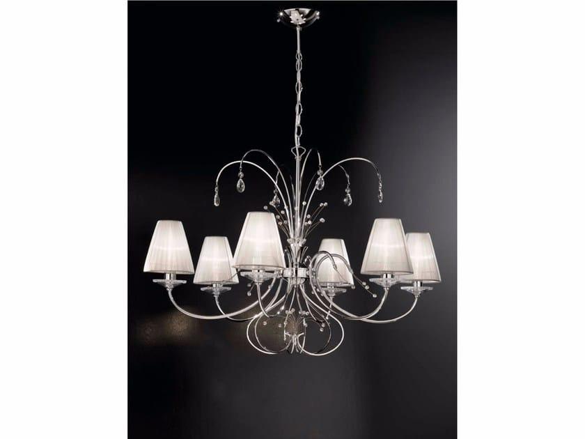 Lampada a sospensione con cristalli Swarovski® EMMA | Lampada a sospensione by IDL EXPORT