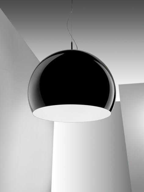 Direct light metal pendant lamp POSITANO   Pendant lamp by IDL EXPORT