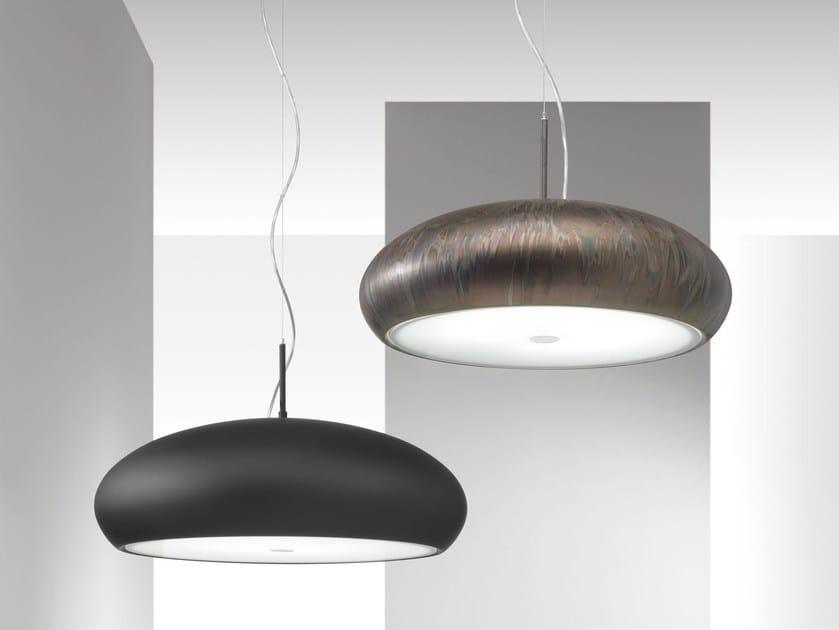 Direct light metal pendant lamp PONZA   Pendant lamp by IDL EXPORT