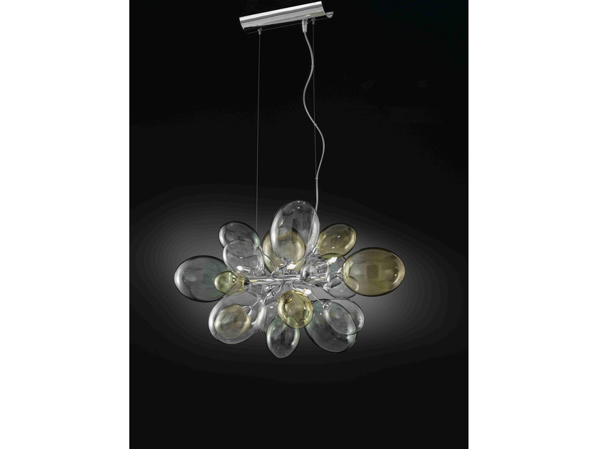 Direct light Pyrex® pendant lamp NUVOLA | Pendant lamp by IDL EXPORT