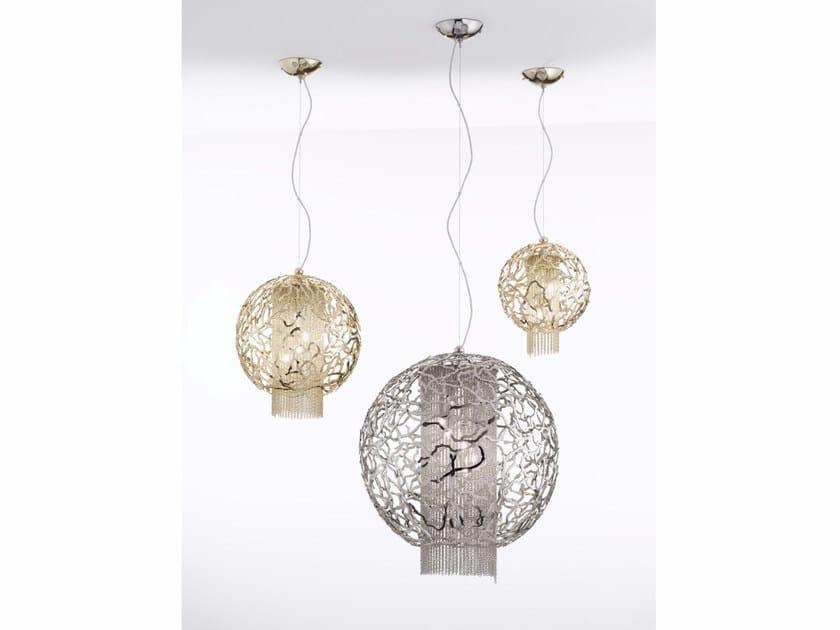 Metal pendant lamp WEAVE | Pendant lamp by IDL EXPORT