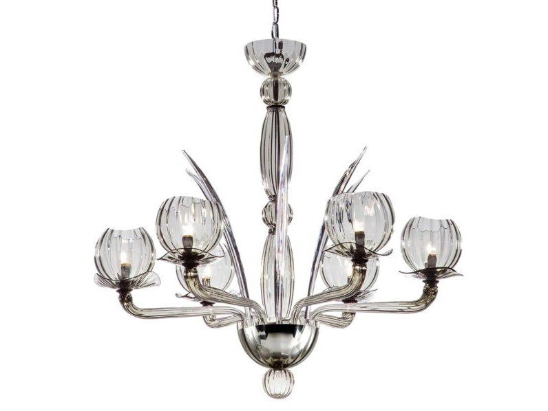 Murano glass pendant lamp AFRODITE | Pendant lamp by IDL EXPORT