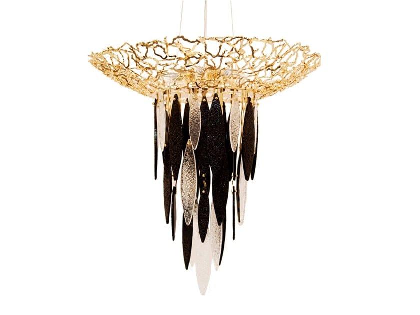 Metal pendant lamp ELITE | Pendant lamp by IDL EXPORT