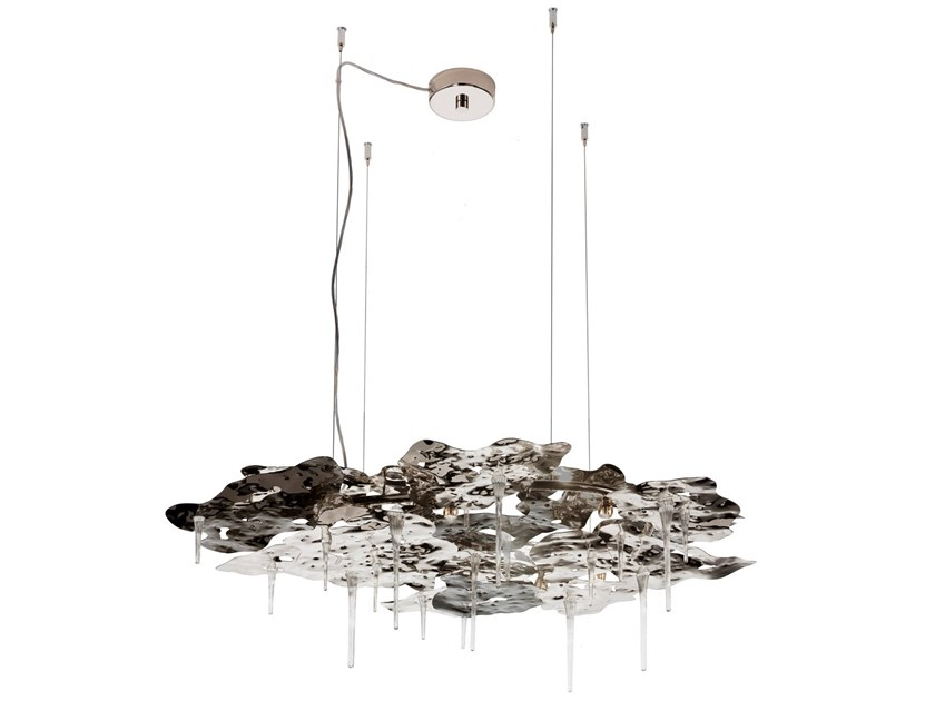 Metal pendant lamp LEAVES | Pendant lamp by IDL EXPORT