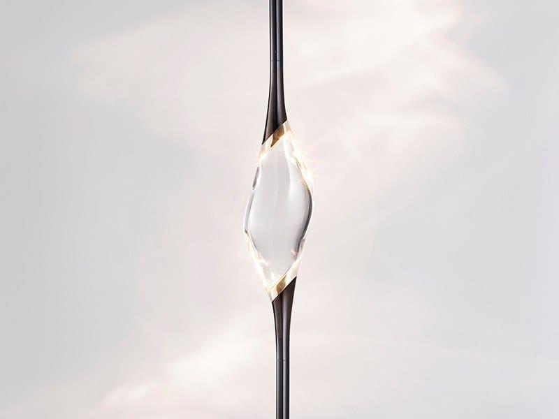 LED crystal pendant lamp IL PEZZO 12   Pendant lamp by Il Pezzo Mancante