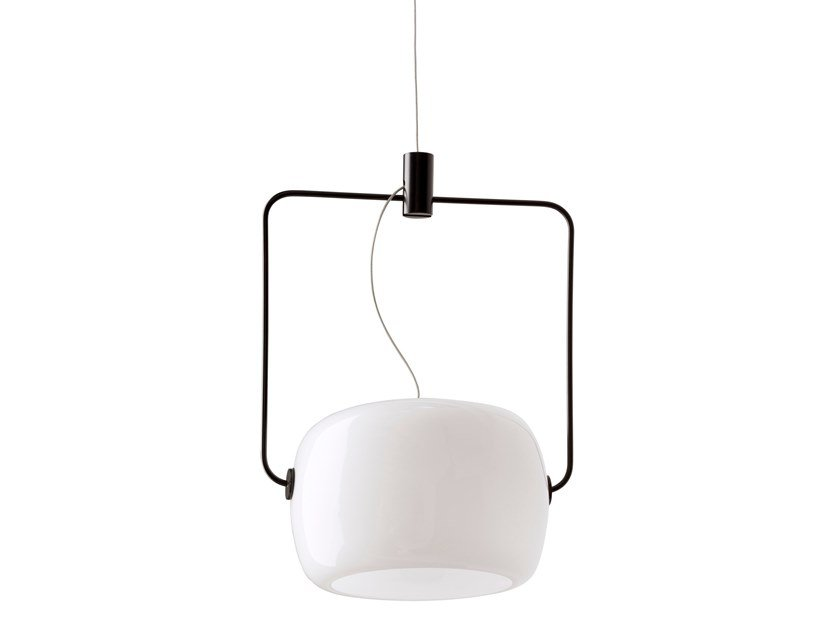 LED opal glass pendant lamp GALET | Pendant lamp by Inventive