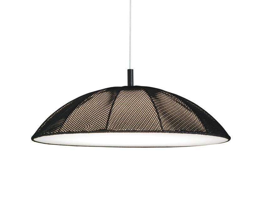 LED fabric pendant lamp STUDIO | Pendant lamp by bs.living