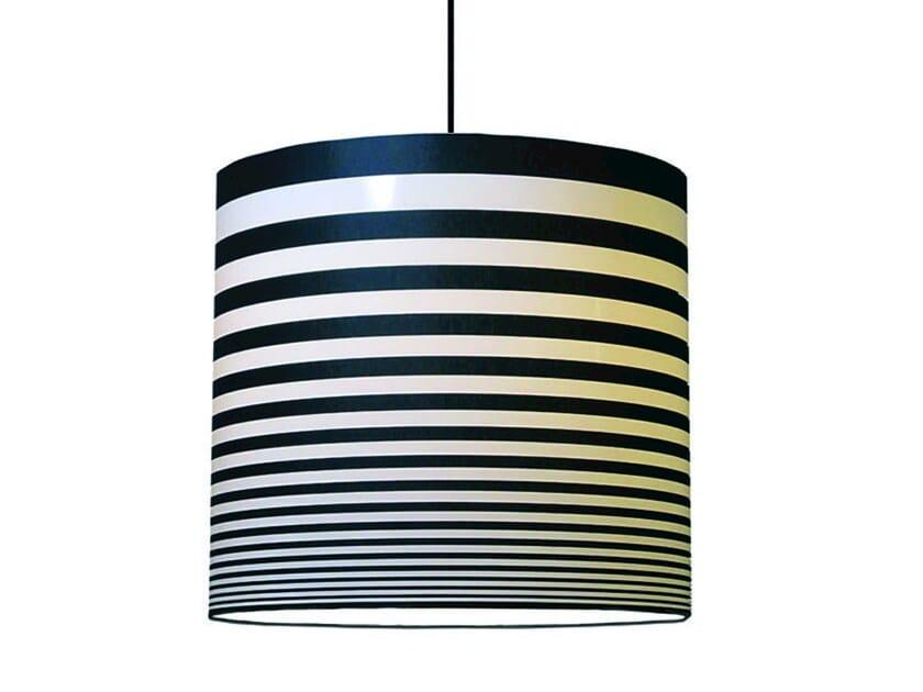Fabric pendant lamp HORIZON   Pendant lamp by Kappennow