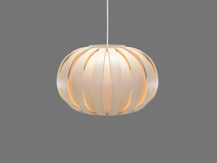 LED handmade wood veneer pendant lamp SKOG   Pendant lamp by SENCE