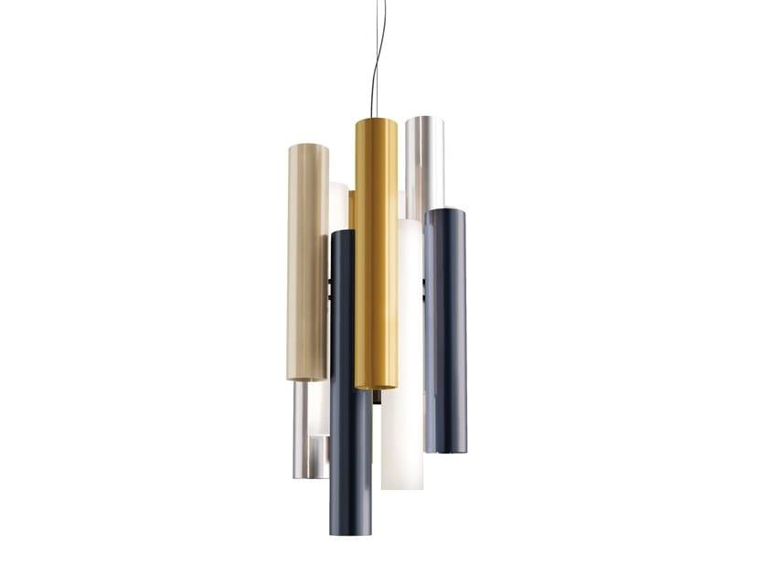 LED plexiglass pendant lamp TOOT | Pendant lamp by KUNDALINI