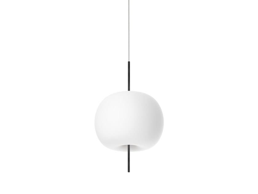 Opal glass pendant lamp KUSHI | Pendant lamp by KUNDALINI