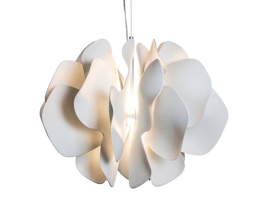 Lampada a sospensione fatta a mano in porcellana NIGHTBLOOM | Lampada a sospensione by Lladró