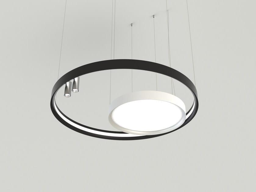Led extruded aluminium pendant lamp lbs pendant lamp by luciferos