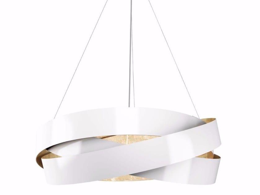 Metal pendant lamp PURA | Pendant lamp by Marchetti