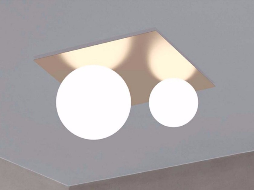 Metal ceiling lamp MOONS | Ceiling lamp by Marchetti