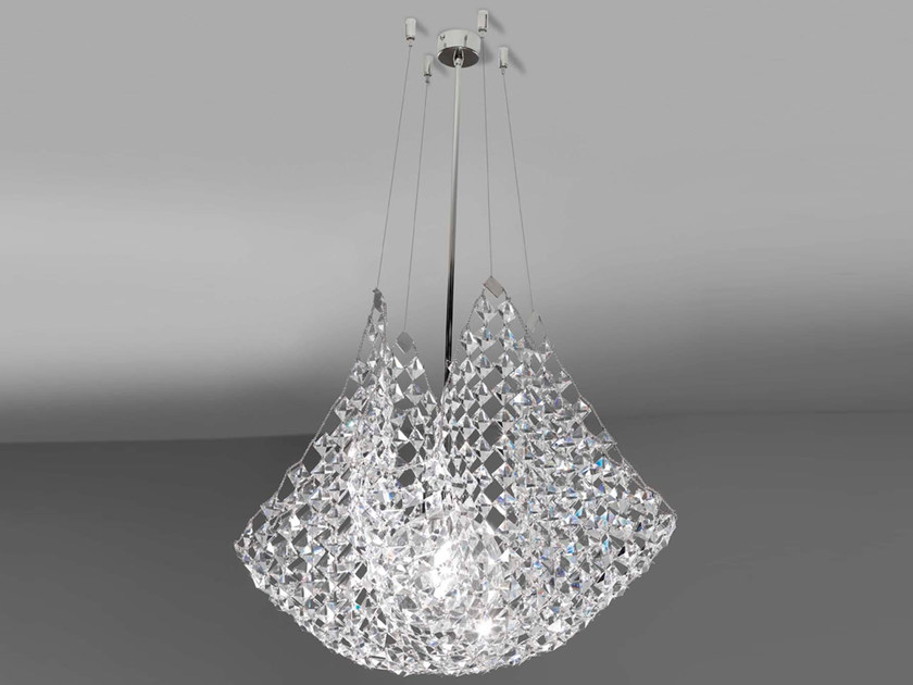 Crystal pendant lamp PAREO | Pendant lamp by Marchetti