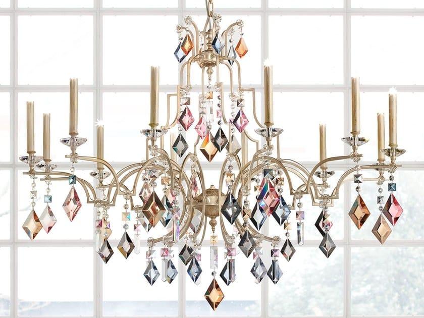 Lampada a sospensione a luce diretta in metallo verniciato LIZZI | Lampada a sospensione by Masiero