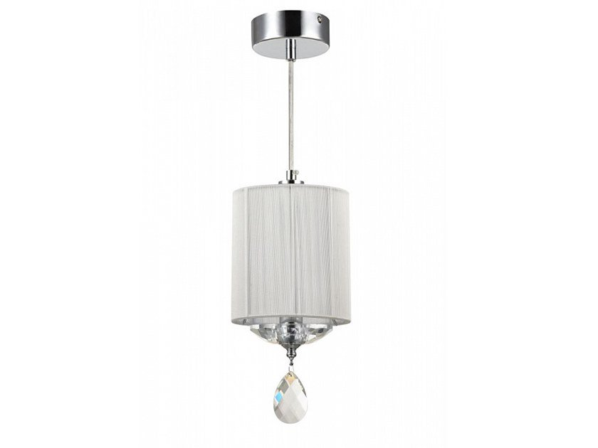 Fabric pendant lamp with crystals MIRAGGIO   Pendant lamp by MAYTONI