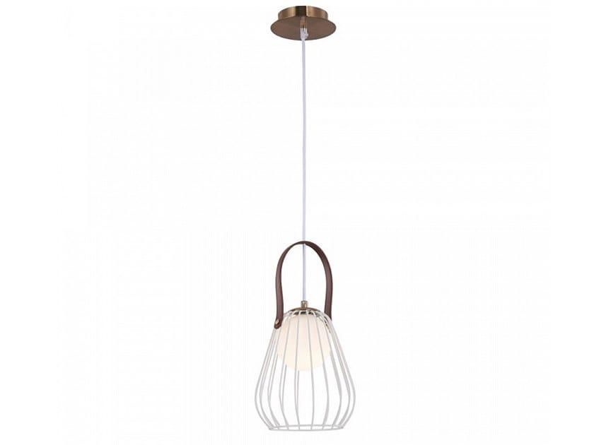 Leather pendant lamp INDIANA | Pendant lamp by MAYTONI