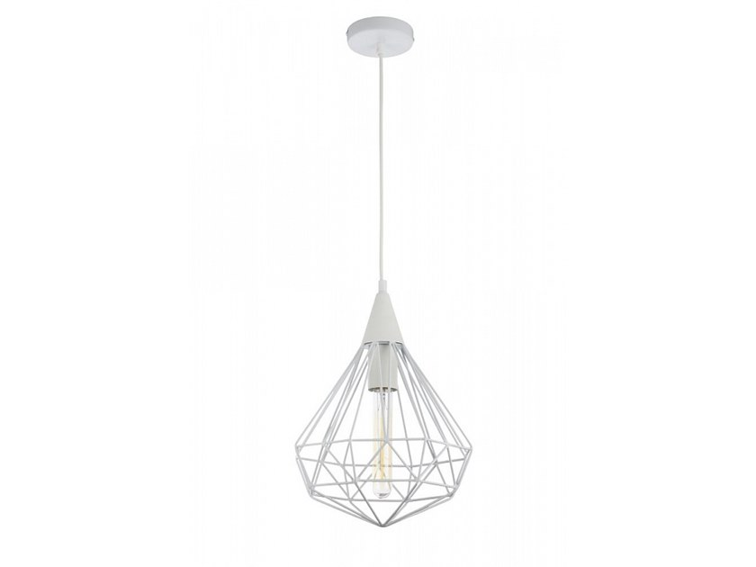 Enamelled metal pendant lamp CALAF | Pendant lamp by MAYTONI