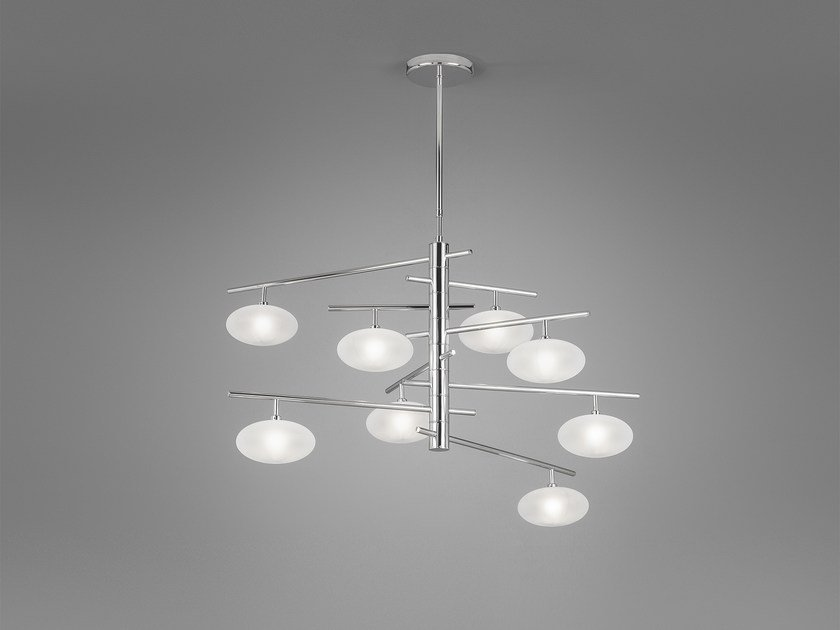 Metal pendant lamp DOLCE L 105 x 65 by Metal Lux