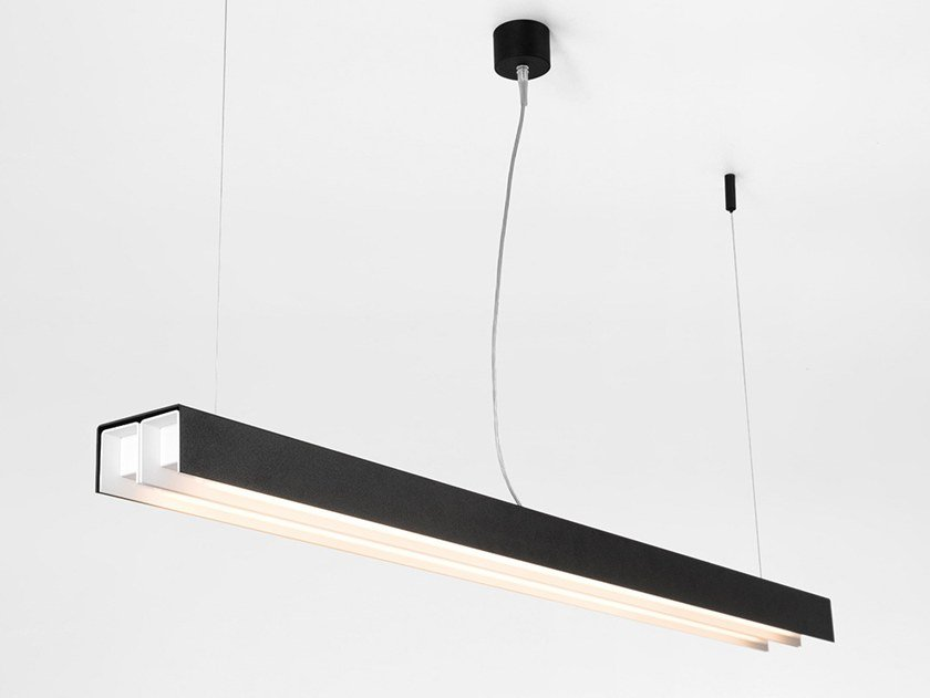 Fluorescent pendant lamp UNITED | Pendant lamp by Modular Lighting Instruments