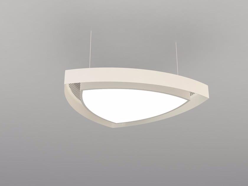 Pannello acustico a sospensione / lampada a sospensione NCM LA T600-900-1200RTRA | Lampada a sospensione by Neonny